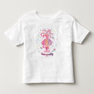 Camiseta Infantil Princesa Papoila dos troll |