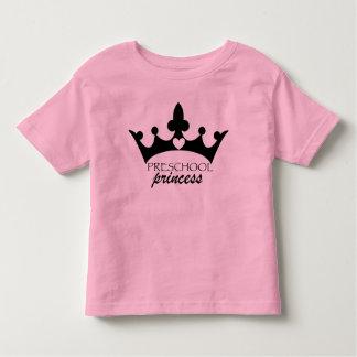 Camiseta Infantil Princesa pré-escolar