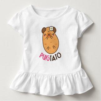 Camiseta Infantil Pugtato (batata do pug)
