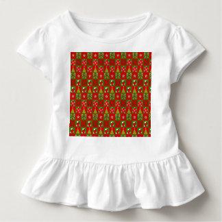 Camiseta Infantil Quadrados decorativos do feriado