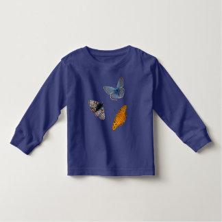 Camiseta Infantil Quatro borboletas raras