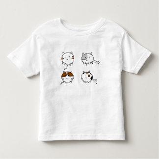 Camiseta Infantil Quatro gatos