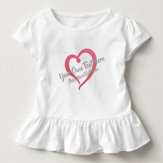 Camiseta Infantil Querido e texto que você personaliza