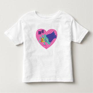 Camiseta Infantil Ramo feliz dos troll |