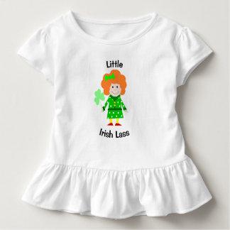 Camiseta Infantil Rapariga irlandesa pequena
