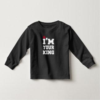 Camiseta Infantil Rei
