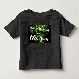 Camiseta Infantil Rei da selva