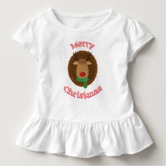 Camiseta Infantil Rena bonito
