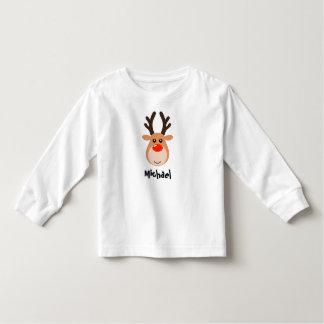 Camiseta Infantil Rena com o t-shirt conhecido da criança