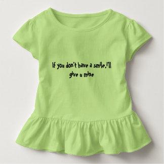 Camiseta Infantil romper do jérsei