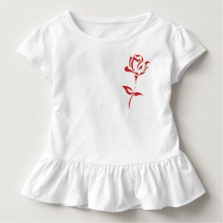 Camiseta Infantil Rosas vermelhas
