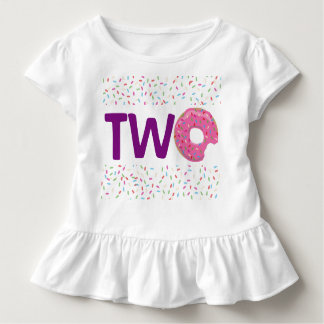 Camiseta Infantil Rosquinha DOIS
