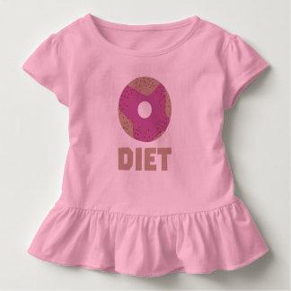 Camiseta Infantil Rosquinha para as dietas Z958r