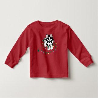 Camiseta Infantil Rouco com camisola do Natal
