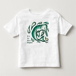 Camiseta Infantil Roupa do bebê e dos miúdos dos trabalhos de arte