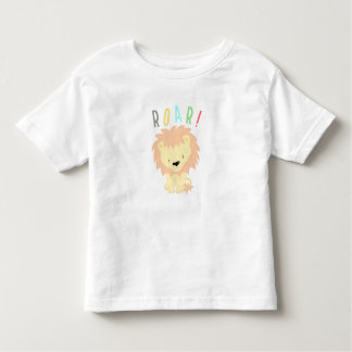 Camiseta Infantil Rugido do leão