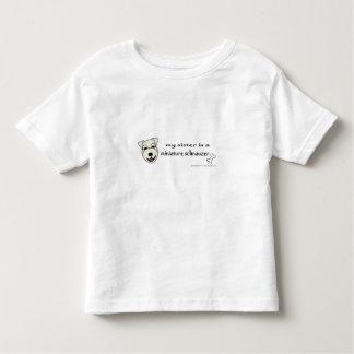 Camiseta Infantil schnauzer diminuto