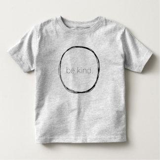 Camiseta Infantil Seja amável