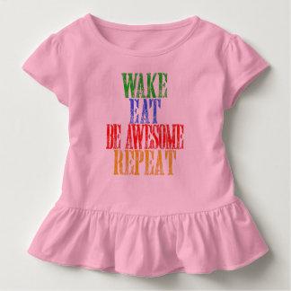Camiseta Infantil Seja impressionante!