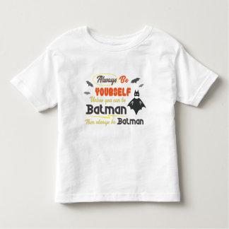 Camiseta Infantil Seja sempre você mesmo caçoa o t-shirt