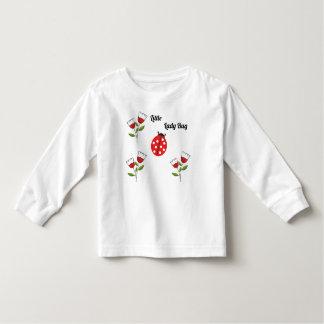 Camiseta Infantil Senhora pequena Desinsetar