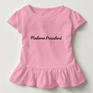 Camiseta Infantil Senhora presidente T
