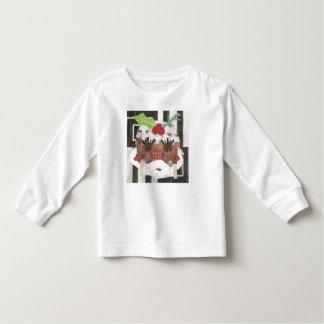 Camiseta Infantil Senhora Pudim Criança Ligação em ponte