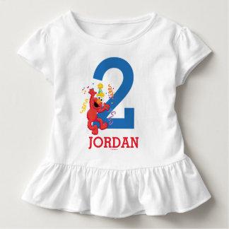 Camiseta Infantil Sesame Street | Elmo - segundo aniversário do