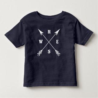 Camiseta Infantil Setas do compasso