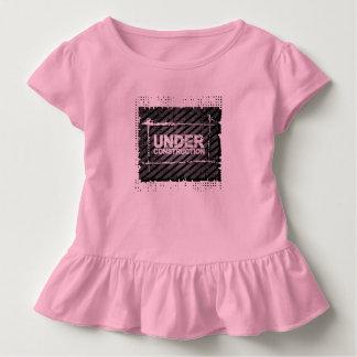 Camiseta Infantil Sob a construção