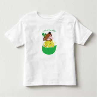 Camiseta Infantil Sorte máxima de   do t-shirt fino do jérsei de