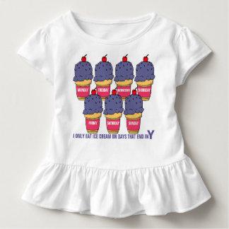 Camiseta Infantil Sorvete cada dia
