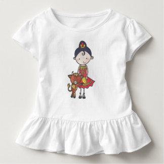 Camiseta Infantil Spanie e castagnette taurillon