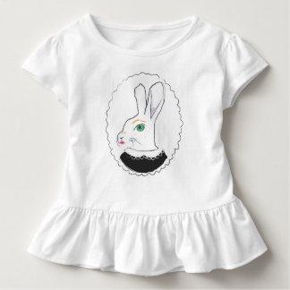 Camiseta Infantil Sra. t-shirt ruffled Coelho