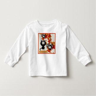 Camiseta Infantil T bonito da criança do Dia das Bruxas