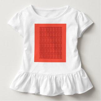 Camiseta Infantil T da criança com árabe do design