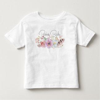 Camiseta Infantil T da criança do bebê de Boho