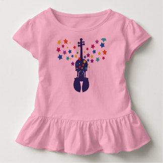 Camiseta Infantil T da Presente-Criança do violino