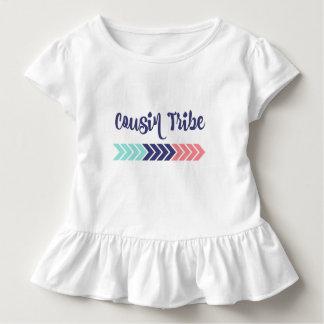 Camiseta Infantil T da seta do tribo do primo
