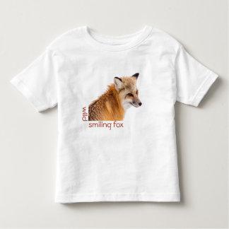 Camiseta Infantil T de sorriso do jérsei da criança do Fox