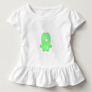 Camiseta Infantil T do plissado da criança de Snoomies