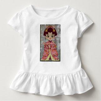 Camiseta Infantil T do plissado da criança do anjo de Sakura