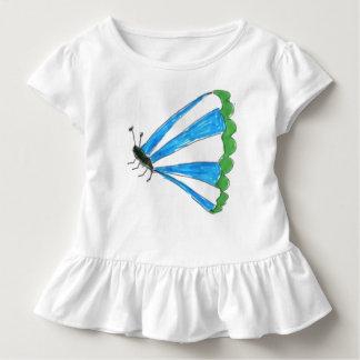 Camiseta Infantil T do plissado de Florença