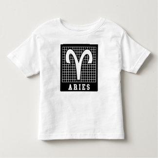 Camiseta Infantil T do sinal do zodíaco do Aries