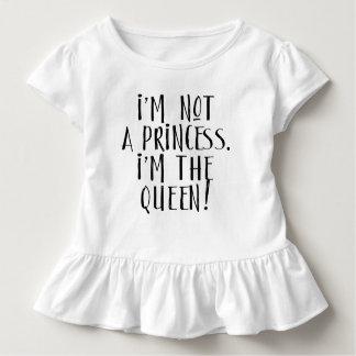 Camiseta Infantil T feminino do plissado