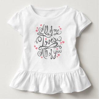 Camiseta Infantil T inspirado lunático do plissado das citações | do