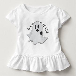 Camiseta Infantil T parvo do plissado da criança do fantasma dos
