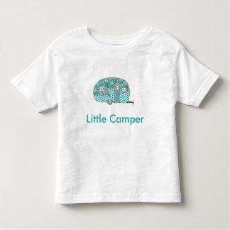 Camiseta Infantil T pequeno da criança do campista