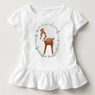 Camiseta Infantil T-shirt bonito dos cervos do t-shirt dos cervos do