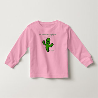 Camiseta Infantil t-shirt cacto barbudo
